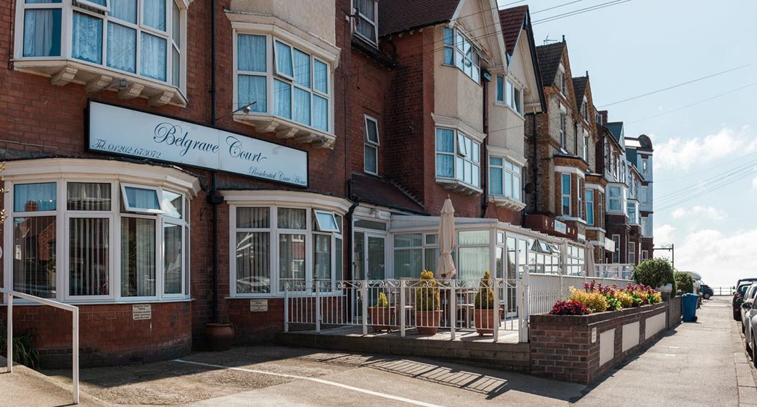 Belgrave Court residential Care Home Bridlington