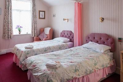 Residents Bedroom Belgrave Court Bridlington